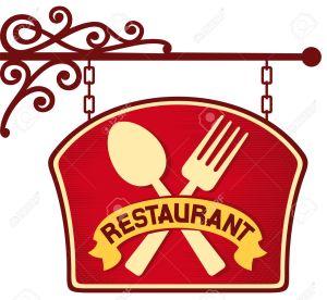 26056391-symbole-Restaurant-restaurant-signe-plaque-de-restaurant-suspendu-symbole-de-restaurant-enseigne-Banque-d'images